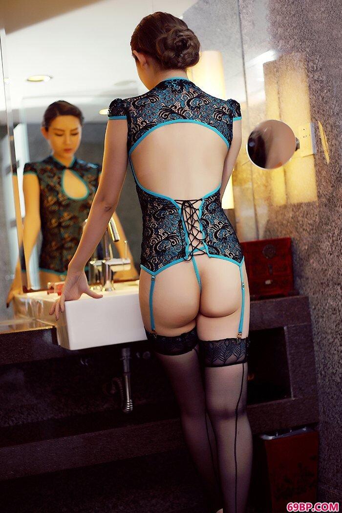 美丽猫娘格格情趣内裤勾勒动人曲线_西西极品棵妇人体