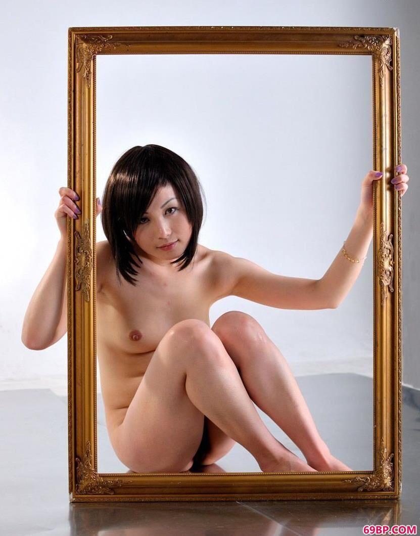 相框里的人体超模依依_奥雷模特全套